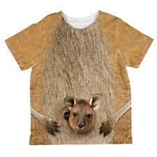 Halloween Kangaroo Costume All Over Toddler T Shirt