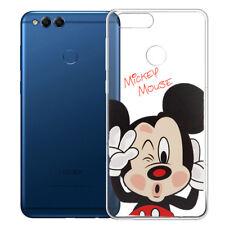 Silicona Funda protectora de Móvil Cartoon Mickey Mouse para Huawei Honor 7x