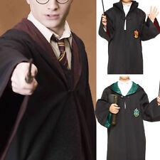 Halloween Boy Harry Potter Gryffindor Slytherin Cloak Cape Coat Costumes Drama
