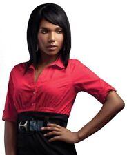 100% Human Hair Wig  Platinum By Sleek