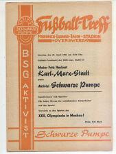 DDR-Liga 79/80 activista negra bomba-motor Fritz Heckert, 20.04.1980