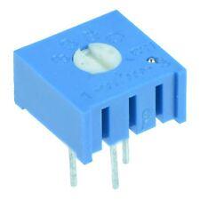 "Single Turn Cermet Potentiometer 3/8"" - 100Ω to 1MΩ"