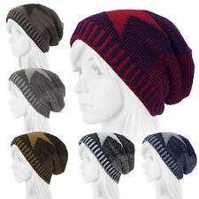 Thermo Knitted cap mottled Star Teddy Winter Hat Baker's boy cap Long Beanie