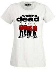 Womens Dead Red Shirts T-Shirt Reservoir Star Terk Dogs Trekkie Fan Inspired