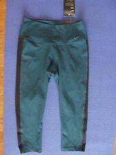 Womens Nike Dri-Fit Training Capri Pant 802961 346 Green Gym Black Size XS, S, M