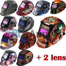 Pro Solar Auto Darkening Welding Helmet Arc Tig Mig Mask Grinding certified NEW