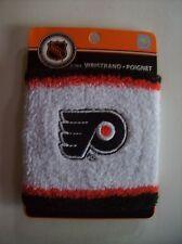 NHL Wristband Philadelphia Flyers Athletic Sport Team Colors One Size Misc NIP
