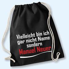 Turnbeutel Beutel Baumwolle Gymbag - Vielleicht bin ich Manuel Neuer Wunschname