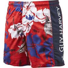 Guy Harvey Men's Backchannel Volley Shorts Swim Trunks
