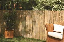 Bambus Sichtschutz CALAMA Gartenzaun Windschutz Zaun Bambusmatte EXTRA GEHÄRTET