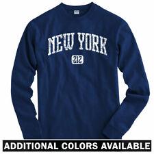 New York 212 Long Sleeve T-shirt LS - Yankees Mets Knicks Giants NYC Men / Youth