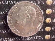 SPAGNA ALFONSO XII 1885-1887 5 PESETAS OTTIMA QUALITA'