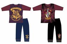 GIRLS HARRY POTTER HOGWARTS GRYFFINDOR SLYTHERIN MAGIC PYJAMAS PJS AGE 5-12