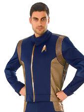 Operations Uniform Deluxe Mens Adult Star Trek Halloween Costume