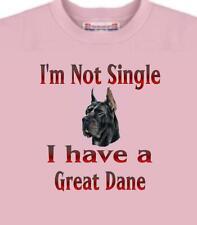Dog T Shirt - I'm Not Single I Have A Great Dane # 17