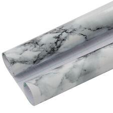 Marble Vinyl Wallpaper Furniture Decorative Film Waterproof Wall Sticker DIY