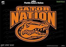 Florida Gators Nation University Football NCAA Vinyl Decal Car Sticker Wall SEC