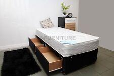 3ft Standard Single Divan Bed Frame.Deep Quilt Or Orthopaedic Mattress Storage
