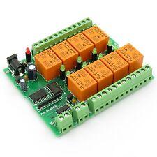 1-Wire Relais-Karte; 8 Relais/relays 220V mit DS2408 chipset