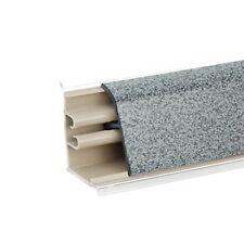 37mm PVC 1,5m / 2,5m ANTRACITE CUCINA ALZATINA striscia stecca guarnizione