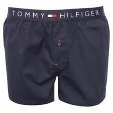 Tommy Hilfiger Woven Cotton Men's Boxer Shorts, Navy