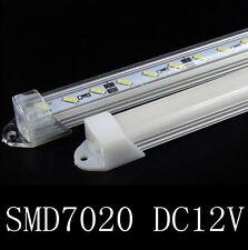 10pcs Bar Rigid Strip Light U Aluminum Shell 50cm DC12V 36led SMD7020 + PC cover