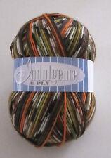 150g ball of Indulgence 6 superwash merino sock knitting yarn color #5