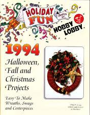 Craft Books: #1357 Holiday Fun Begins At Hobby Lobby