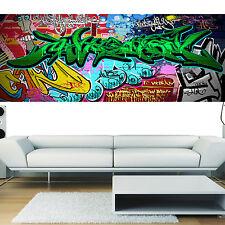 Stickers panoramique déco graffiti 2 réf 3676( 13 dimensions )