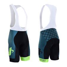 New Mens Cycling Bib Shorts Bicycle Brace Tights Padded Lycra Comfortable Wear