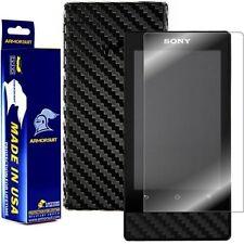 ArmorSuit MilitaryShield Sony WalkMan NWZ-F805/806 Screen + Black Carbon Fiber!