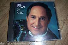 """Neil Sedaka West Germany 1st press """"01"""" CD My Friend"""