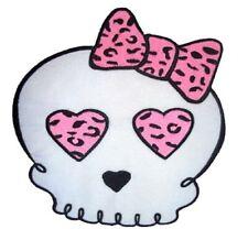 Skull Leopard Bow rockabilly punk batcave Patch