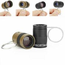 2.5x17.5 HD Mini Portable Handheld Finger Buckle Pocket Monocular Telescope Hot