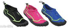 Water Shoes Aqua Socks Snorkeling Pool Beach Exercise Women's SZ 5,6,7,8,9,10