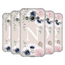 NATURE MAGICK FLORAL MONOGRAM PINK FLOWERS 2 SOFT GEL CASE FOR SAMSUNG PHONES 4