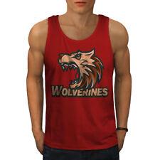 Wolverine Beast Animal Men Tank Top NEW | Wellcoda