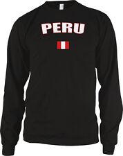 Republic of Peru Quechua Aymara Peruvian Pride Flag Long Sleeve Thermal