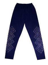 curvaceous clothing plus size  box diamond stud detailed leggings