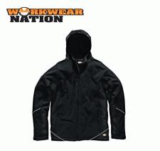 Dickies Dos Tonos Chaqueta Softshell Abrigo impermeable polar trabajo negro