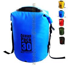 Karana Ocean Dry Travel Waterproof Pack Rucksack Shoulder Day Bag 30L 30 Litre