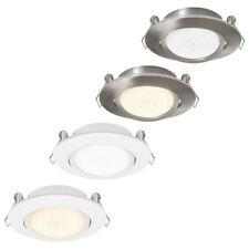 Modern LED 4W Adjustable Tilt Angle Downlight Recessed Round Ceiling Spotlights