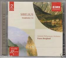SIBELIUS SINFONIA N 1, 2, 3, 4 PAAVO BERGLUND 2 CD