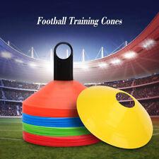 10Pcs/Lot Field Cone Discs Marker Soccer Football Sports Speed Training Tools
