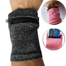 Multifunctional Wrist Band Zipper Ankle Wrap Sports Wrist Strap Wallet Storage