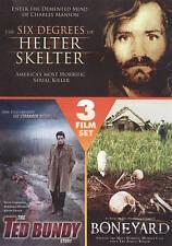 The Six Degrees of Helter Skelter/The Stranger Beside Me/The Boneyard (DVD,...