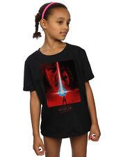Star Wars Girls The Last Jedi Red Poster T-Shirt