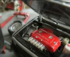 VW Golf 1 II Corrado VR6 Modellauto Motor Platte Bausatz 1/18 Umbau Motor Tuning