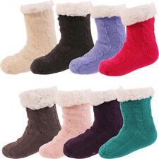 Calcetines Zapatillas ABS Suela de peluche MEDIAS Cálido Niños CL 25199