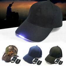 Baseball Cap with 5 LED Light Hat Fishing Camping Caving Hiking Adjustable Hat
